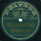 Excavated Shellac 78 rpm records